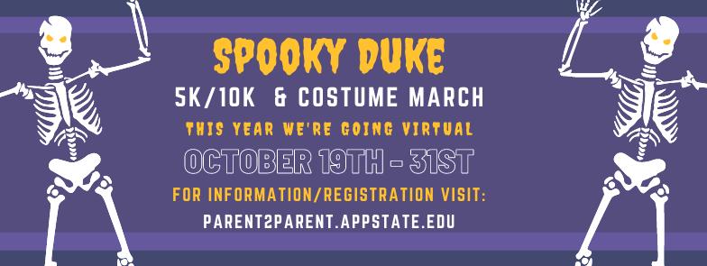 Spooky Duke Race Banner