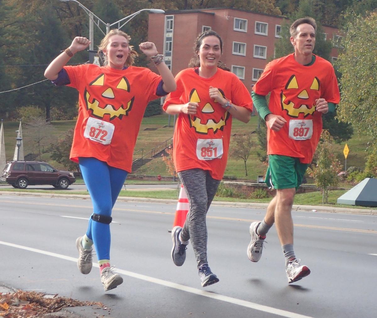 Spooky Duke 5K Participants