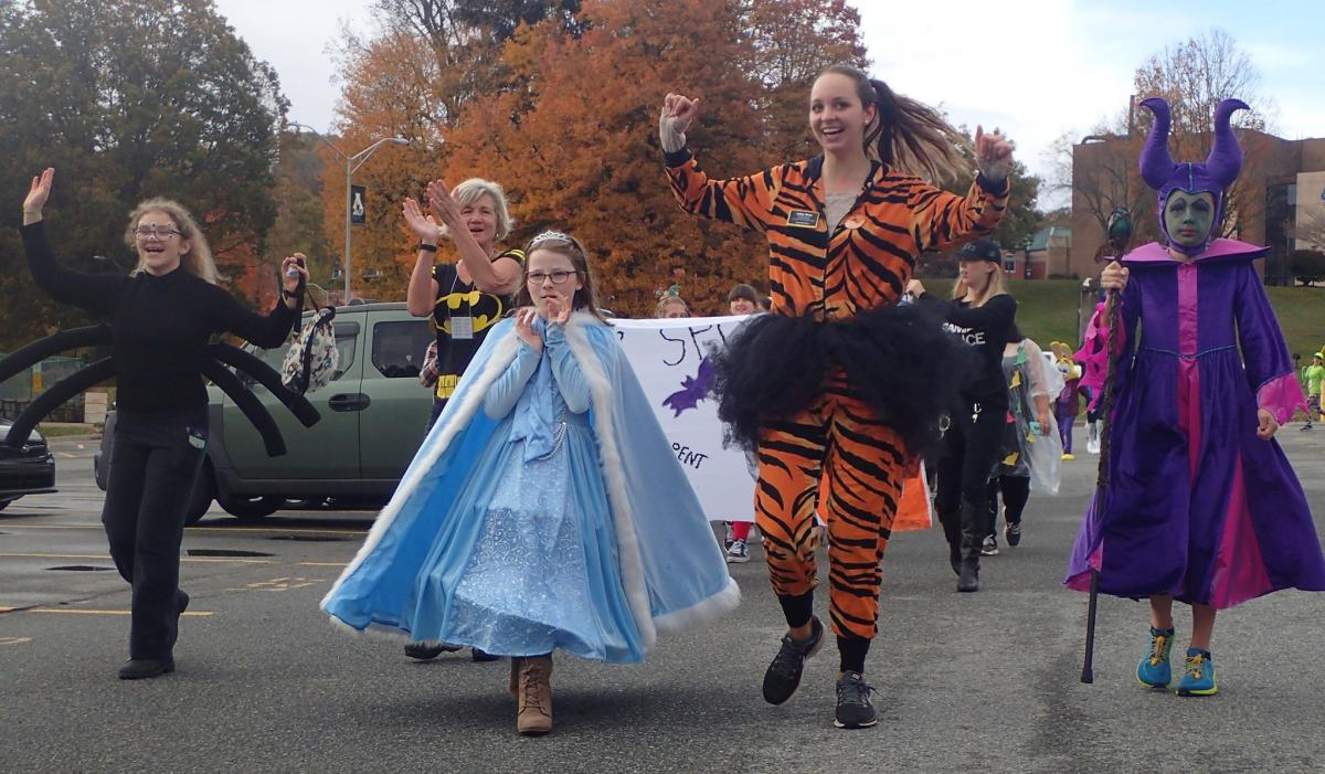 Spooky Duke Costume March